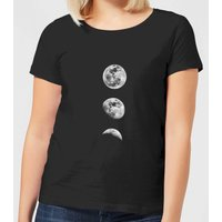 The Motivated Type 3 Moon Series Women's T-Shirt - Black - 4XL - Black