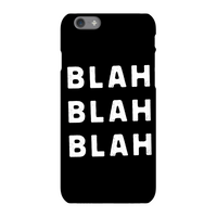 The Motivated Type Blah Blah Blah Phone Case for iPhone and Android - iPhone X - Tough Case - Matte