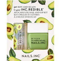 nails inc. Ripe and Ready Top Coat Duo