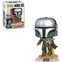 Zavvi ES|Funko Pop! Star Wars The Mandalorian Mandalorian Flying con Jet Pack