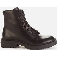KENZO Men's Pike Leather Lace Up Boots - Black - UK 7.5