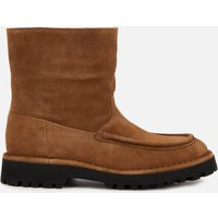 KENZO Women's K-Mount Suede/Shearling Lined Boots - Brown - UK 5