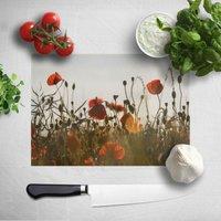 Summer Flowers Chopping Board