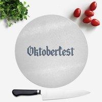 Oktoberfest Round Chopping Board