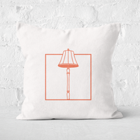 Lampshade Square Cushion - 60x60cm - Soft Touch