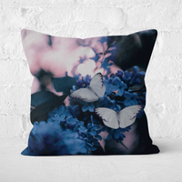 Butterflies Square Cushion - 60x60cm - Soft Touch