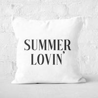 Summer Lovin' Square Cushion - 60x60cm - Soft Touch