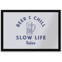 Beer And Chill Entrance Mat