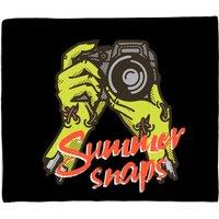 Summer Snaps Fleece Blanket