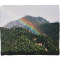 Meadow Rainbow Fleece Blanket