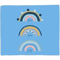 Sun Love Joy Fleece Blanket