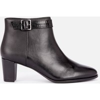 Clarks Women's Kaylin60 Leather Heeled Ankle Boots - Black - UK 8