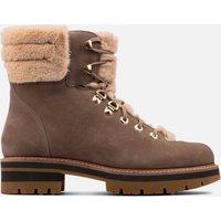 Clarks Women's Orianna Nubuck Hiking Style Boots - Pebble - UK 5