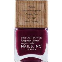 nails inc. Plant Power Nail Polish 15ml (Various Shades) - Flex My Complex