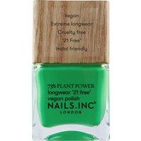 nails inc. Plant Power Nail Polish 15ml (Various Shades) - Mother Earths Calling
