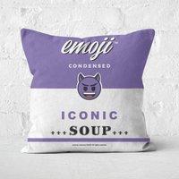 Emoji Devil Square Cushion - 50x50cm - Soft Touch