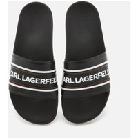 Karl Lagerfeld Men's Kondo Contrast Slide Sandals - Black - UK 8