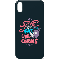 Save The Fat Unicorns Phone Case for iPhone and Android - iPhone 8 - Tough Case - Gloss