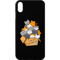 Over Catpawcity Phone Case for iPhone and Android - iPhone X - Snap Case - Matte