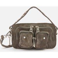 shop for Núnoo Women's Helena Suede Cross Body Bag - Grey at Shopo