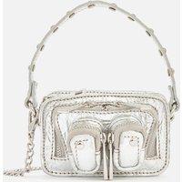 shop for Núnoo Women's Molly Candy Cross Body Bag - Silver at Shopo