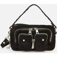 Nunoo Women's Helena New Suede Cross Body Bag - Black