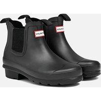 Hunter Original Big Kids' Chelsea Boots - Black - UK 12 Kids