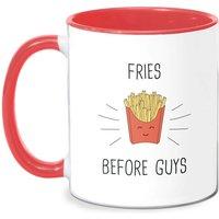Fries Before Guys Mug - White/Red