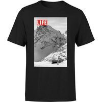 LIFE Magazine Mountains Mens T-Shirt - Black - M - Black