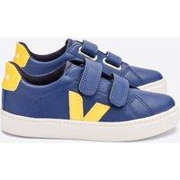 Veja Kids' Esplar Velcro Trainers - Cobalt/Tonic - UK 13 Kids