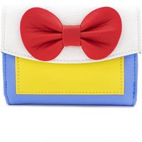 Loungefly Disney Snow White Cosplay Satin and Faux Leather Purse