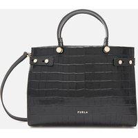 Furla Womens Lady Medium Tote Bag - Black