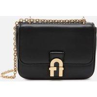 Furla Womens Cosy Mini Shoulder Bag - Black