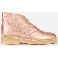Clarks Originals Women's 221 Desert Boots - Rose Gold - UK 7