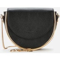 shop for See By Chloé Women's Mara Shoulder Bag - Black at Shopo