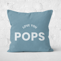 Love You Pops Square Cushion - 50x50cm - Soft Touch