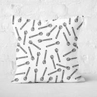 Spanner Square Cushion - 50x50cm - Soft Touch