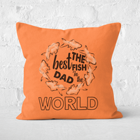 Best Fish Dad Square Cushion - 50x50cm - Soft Touch