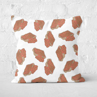 Baked Beans Square Cushion - 50x50cm - Soft Touch