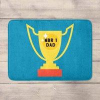 Nbr 1 Dad Cup Bath Mat