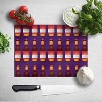 Beer Bottle Chopping Board
