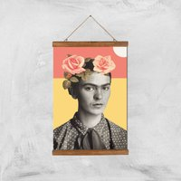 Image of Frida Giclee Art Print - A3 - Wooden Hanger