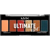 NYX Professional Makeup Ultimate Shadow Palette Edit Escape Artist 6 Shades