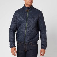 Barbour Beacon Mens Karl Box Quilted Jacket - Navy - L