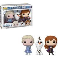 Disney Frozen 2 Elsa, Olaf & Anna EXC Pop! 3-Pack