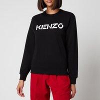 KENZO Women's Classic Fit Sweatshirt KENZO Logo - Black - M