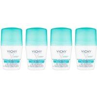 VICHY No Marks Roll-on Deodorant Set 4 x 50ml