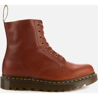 Dr. Martens Men's 1460 Pascal Ziggy Leather 8-Eye Boots - Tan - UK 10