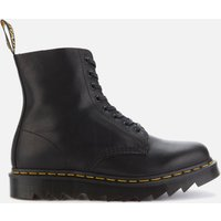 Dr. Martens Men's 1460 Pascal Ziggy Leather 8-Eye Boots - Black - UK 8