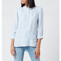 Barbour Women's Dover Shirt - Blue/White - UK 8
